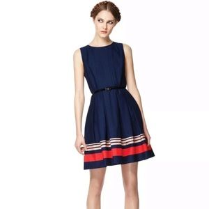 Jason Wu for Target Fit & Flare Navy Dress Sz 2